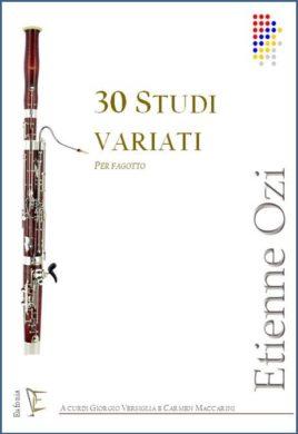 30 studi variati x fg