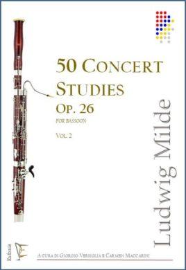 50 studi op. 26 Milde 2 vol
