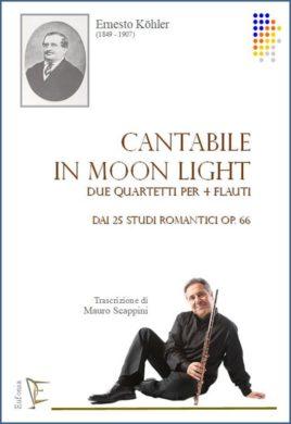 Cantabile In moon light x 4 fl