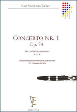 Concerto nr. 1 Weber cl pf