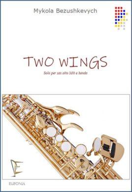Two wings sax e banda