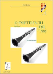 12 DUETTI FACILI DEL 700 edizioni_eufonia