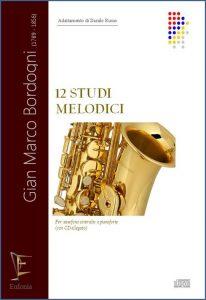 12 STUDI MELODICI PER SAXOFONO edizioni_eufonia