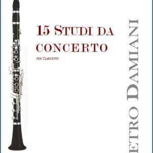 15 STUDI DA CONCERTO edizioni_eufonia