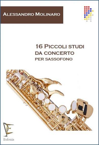 16 PICCOLI STUDI DA CONCERTO PER SAX edizioni_eufonia