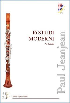 16 STUDI MODERNI PER CLARINETTO edizioni_eufonia