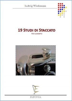 19 STUDI DI STACCATO edizioni_eufonia
