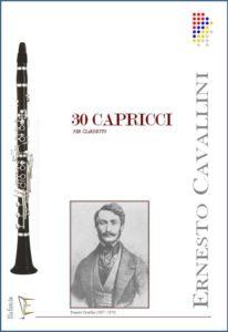 30 CAPRICCI PER CLARINETTO edizioni_eufonia