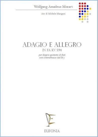 ADAGIO E ALLEGRO IN FA KV 594 edizioni_eufonia