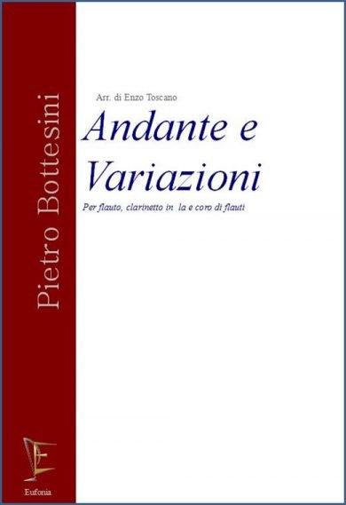 ANDANTE E VARIAZIONI PER FLAUTO CLARINETTO IN LA E CORO DI FLAUT edizioni_eufonia