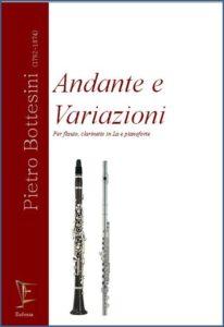 ANDANTE E VARIAZIONI PER FLAUTO CLARINETTO IN LA E PIANOFORTE edizioni_eufonia