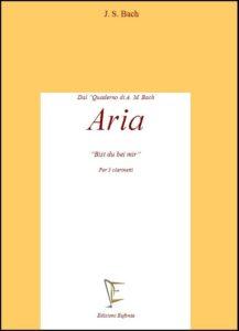 ARIA (Bist du bei mir) edizioni_eufonia