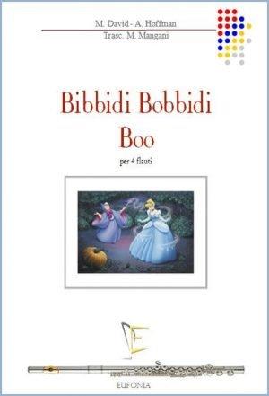 BIBBIDI BOBBIDI BOO edizioni_eufonia