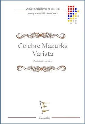 CELEBRE MAZURKA VARIATA edizioni_eufonia