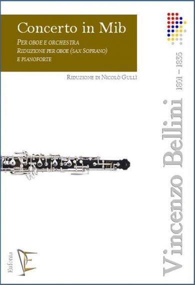 CONCERTO IN MIb PER OBOE E ORCHESTRA RIDUZ. OB. E PF. edizioni_eufonia
