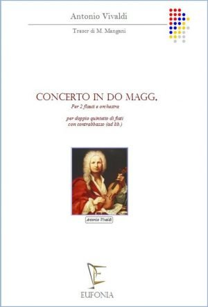 CONCERTO IN DO Magg. PER  DUE FLAUTI edizioni_eufonia