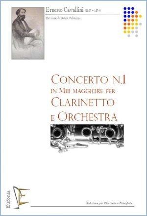 CONCERTO NR. 1 IN MIb PER CLARINETTO E ORCHESTRA edizioni_eufonia