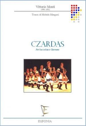 CZARDAS PER CALRINETTO E PIANOFORTE edizioni_eufonia