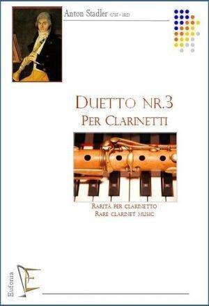 DUETTO NR. 3 PER CLARINETTI edizioni_eufonia