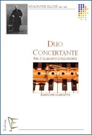 DUO CONCERTANTE PER 2 CLARINETTI E PIANOFORTE edizioni_eufonia