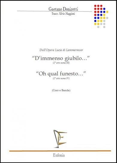 D'IMMENSO GIUBILO... / OH QUAL FUNESTO... edizioni_eufonia