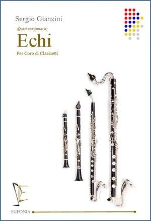 ECHI PER CORO DI CLARINETTI edizioni_eufonia