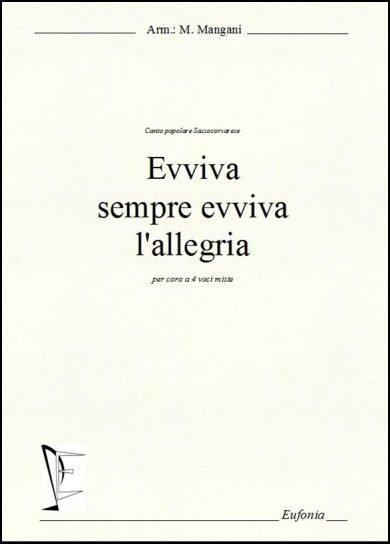 EVVIVA SEMPRE EVVIVA L'ALLEGRIA edizioni_eufonia