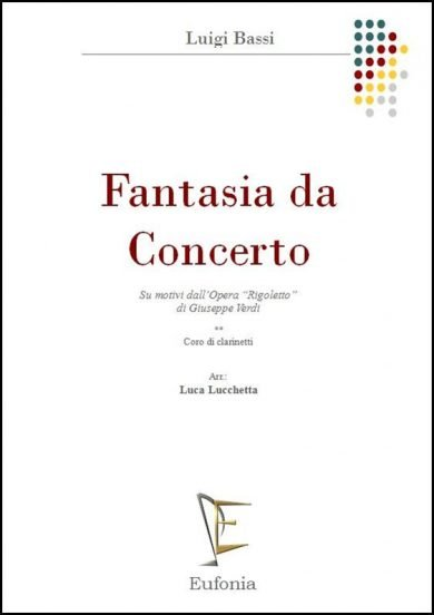 """FANTASIA DA CONCERTO """"RIGOLETTO"""" edizioni_eufonia"""