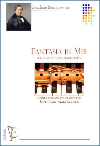 FANTASIA IN MIb PER CLARINETTO E PIANOFORTE edizioni_eufonia