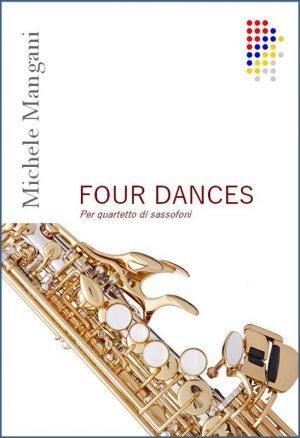 FOUR DANCES - PER 4 SAX edizioni_eufonia