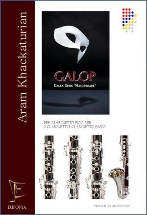 GALOP PER QUARTETTO DI CLARINETTI edizioni_eufonia