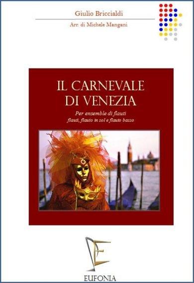 IL CARNEVALE DI VENEZIA PER ENSEMBLE DI FLAUTI edizioni_eufonia