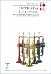 INTRADA SOLENNE PER 4 OTTONI edizioni_eufonia