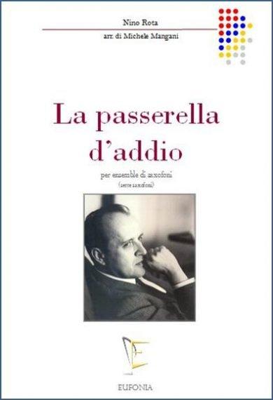 LA PASSERELLA D'ADDIO edizioni_eufonia