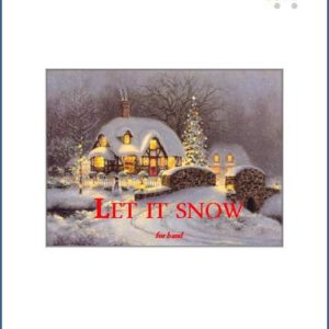 LET IT SNOW edizioni_eufonia