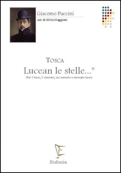 LUCEAN LE STELLE... (per 2fl. 2cl. sax ct. e cl. bs) edizioni_eufonia