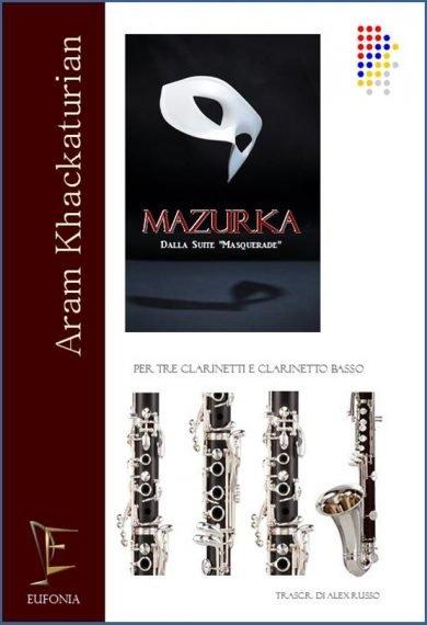 MAZURKA PER QUARTETTO DI CLARINETTI edizioni_eufonia