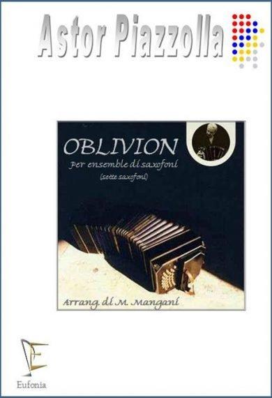 OBLIVION PER 7 SAX edizioni_eufonia
