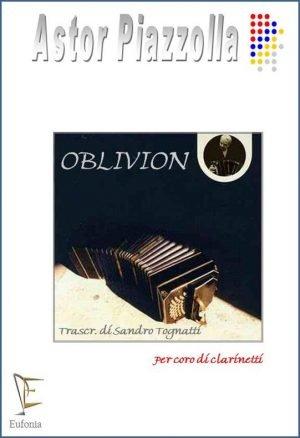 OBLIVION PER CORO DI CLARINETTI edizioni_eufonia