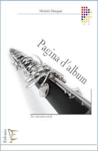 PAGINA D'ALBUM PER CLARIENTTO E ARCHI edizioni_eufonia