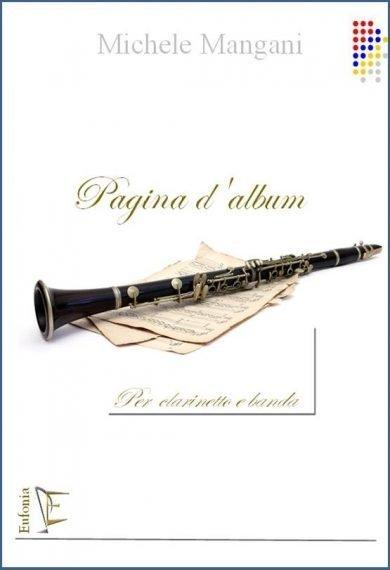 PAGINA D'ALBUM PER CLARINETTO E BANDA edizioni_eufonia