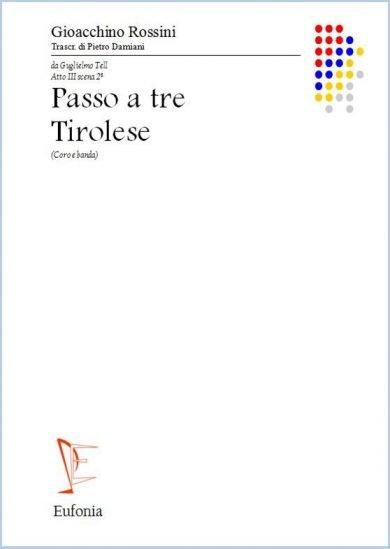 PASSO A TRE - TIROLESE edizioni_eufonia
