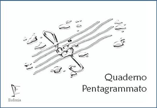 QUADERNO PENTAGRAMMATO  21X15 edizioni_eufonia