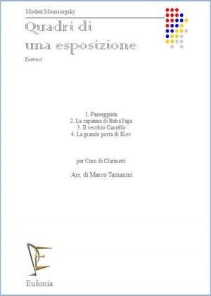 QUADRI DI UNA ESPOSIZIONE edizioni_eufonia