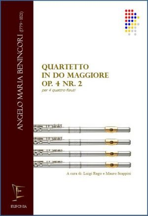 QUARTETTO IN DO MAGG. OP 4 NR. 2 PER FLAUTI edizioni_eufonia