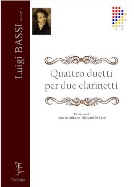 QUATTRO DUETTI PER DUE CLARINETTI edizioni_eufonia