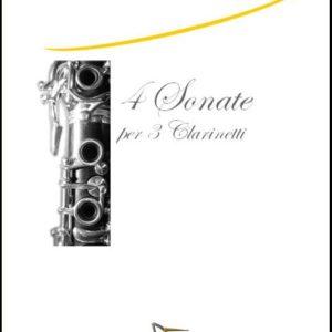 QUATTRO SONATE PER TRE CLARINETTI edizioni_eufonia