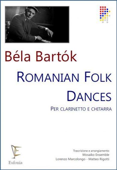 ROMANIAN FOLK DANCES SUITE PER CLARINETTO E CHITARRA edizioni_eufonia