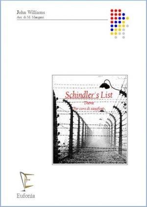 SCHINDLER'S LIST - PER CORO DI SAX edizioni_eufonia