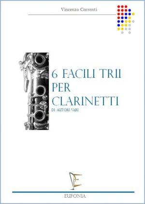 SEI FACILI TRII PER CLARINETTI edizioni_eufonia